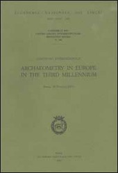 Convegno internazionale Archaeometry in Europe in the Third Millennium (Roma, 29-30 marzo 2001)
