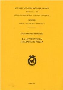 La letteratura italiana in Persia