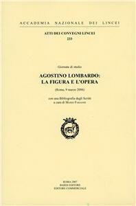 Agostino Lombardo: la figura e l'opera