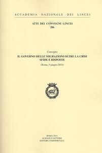 Il governo delle migrazioni oltre la crisi sfide e risposte (Roma 5 giugno 2014)