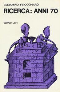 Libro Ricerca: anni '70 Beniamino Finocchiaro
