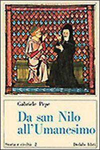 Libro Da san Nilo all'umanesimo Gabriele Pepe