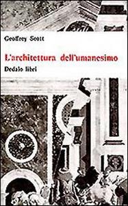 Libro L' architettura dell'umanesimo Geoffrey Scott