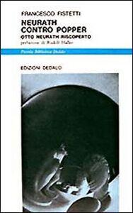 Foto Cover di Neurath contro Popper. Otto Neurath riscoperto, Libro di Francesco Fistetti, edito da Dedalo