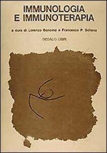 Libro Immunologia e immunoterapia