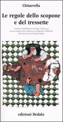 Le regole dello scopone e del tressette - Chitarrella - copertina