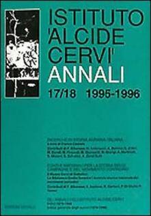 Steamcon.it Annali Istituto Alcide Cervi (1995-1996). Vol. 17-18 Image