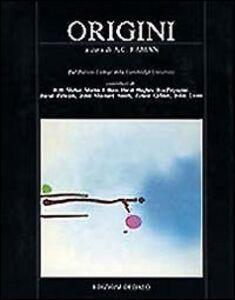 Foto Cover di Origini, Libro di  edito da Dedalo