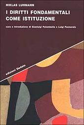 I diritti fondamentali come istituzione