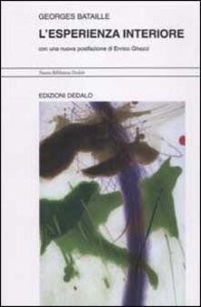 L' esperienza interiore - Georges Bataille - copertina