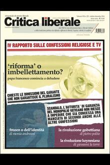 Lpgcsostenible.es Critica liberale (2014). Vol. 222 Image
