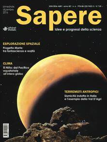 Recuperandoiltempo.it Sapere. Idee e progressi della scienza (2016) Image