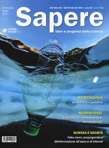 Ristorantezintonio.it Sapere. Idee e progressi della scienza (2018). Vol. 2: Aprile. Image