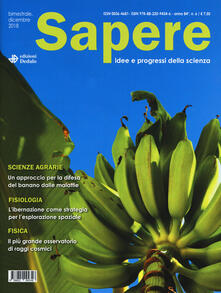 Filmarelalterita.it Sapere. Idee e progressi della scienza (2018). Vol. 6 Image