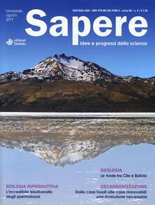 Writersfactory.it Sapere. Idee e progressi della scienza (2019). Vol. 4 Image