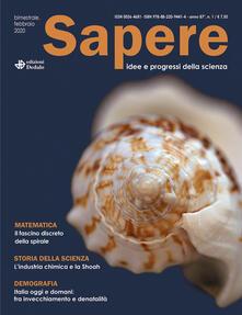 Parcoarenas.it Sapere. Idee e progressi della scienza (2020). Vol. 1 Image