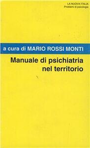 Libro Manuale di psichiatria nel territorio