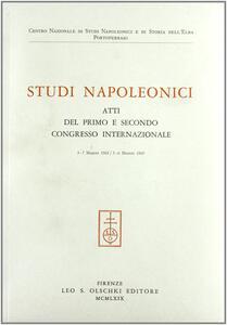 Studi napoleonici. Atti (1962-65)