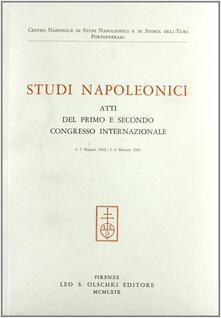 Studi napoleonici. Atti (1962-65) - copertina
