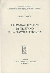 I romanzi italiani di Tristano e la Tavola rotonda