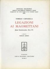 Legazioni ai maomettani (Quod reminiscentur, libro IV)