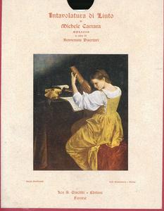 Libro La intavolatura di liuto del 1585 Michele Carrara