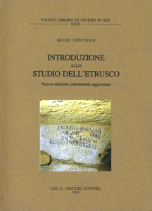 Libro Introduzione allo studio dell'etrusco Mauro Cristofani