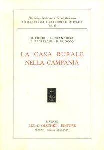 Libro La casa rurale nella Campania