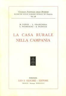 La casa rurale nella Campania - copertina