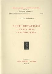 Poeti metafisici e cavalieri in Inghilterra