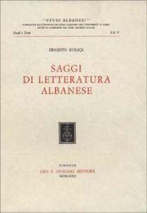 Saggi di letteratura albanese