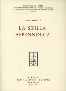 La Sibilla appenninica - Luigi Paolucci - copertina