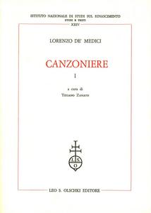 Libro Canzoniere Lorenzo de' Medici
