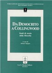 Da Democrito a Collingwood. Studi di storia della filosofia