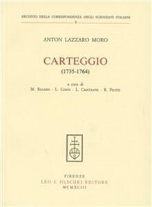 Carteggio (1735-1764)
