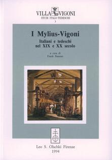 I Mylius-Vigoni. Italiani e tedeschi nel XIX e XX secolo - copertina
