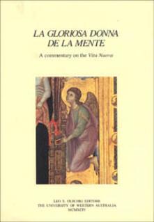 La gloriosa donna de la mente. A commentary on the «Vita nuova» - copertina