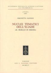 Nuclei tematici dell'Iliade. «Il duello in sogno»