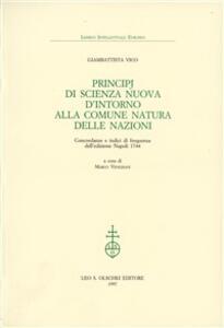 Principj di scienza nuova d'intorno alla comune natura delle nazioni. Concordanze e indici di frequenza dell'edizione Napoli 1744