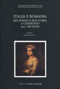Libro Italia e Romania: due popoli e due storie a confronto