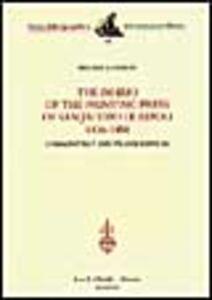 Foto Cover di The diario of the Printing Press of San Jacopo di Ripoli (1476-1484). Commentary and Transcription, Libro di Melissa Conway, edito da Olschki