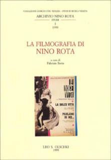 La filmografia di Nino Rota - copertina