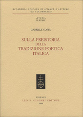Sulla preistoria della tradizione poetica italica