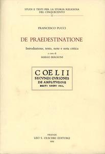 Libro De praedestinatione Francesco Pucci