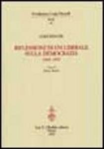 Libro Riflessioni di un liberale sulla democrazia 1943-1947 Luigi Einaudi