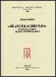 Foto Cover di Melancholia christiana. Studi sulle fonti di Leon Battista Alberti, Libro di Rinaldo Rinaldi, edito da Olschki