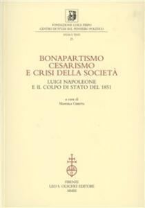 Bonapartismo, cesarismo e crisi della società. Luigi Napoleone e il colpo di Stato del 1851