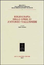 Bibliografia delle opere di Antonio Vallisneri