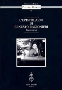 Libro L' epistolario di Ernesto Ragionieri. Inventario