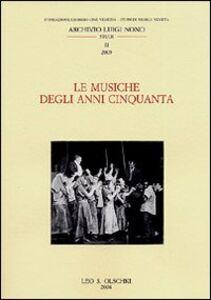 Libro Le musiche degli anni Cinquanta